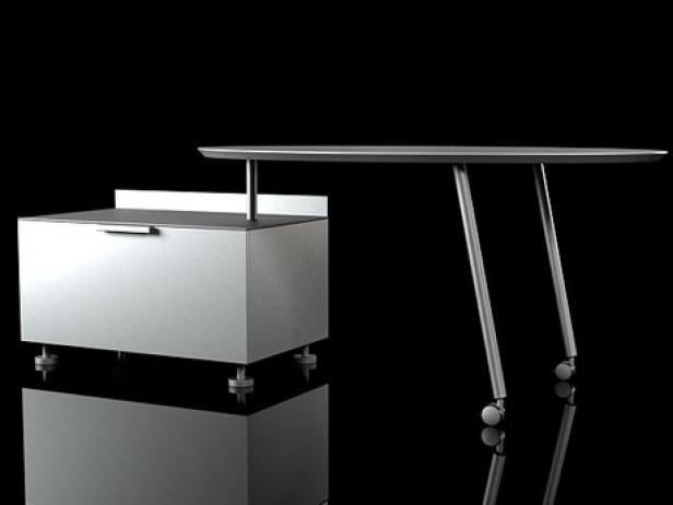 everywhere desks 3d model ligne roset. Black Bedroom Furniture Sets. Home Design Ideas