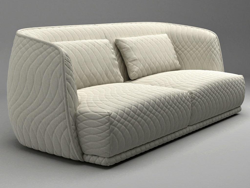 redondo sofa 215 3d model moroso. Black Bedroom Furniture Sets. Home Design Ideas