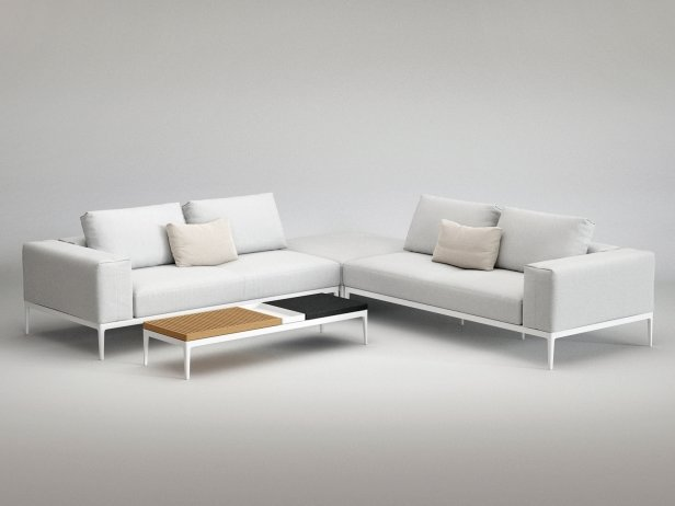 Outdoor Corner Sofa Comp B 2