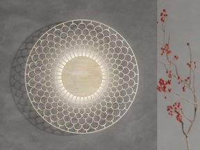 Rosa Rosa Rosas Wall Light