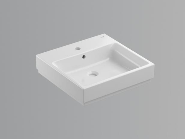 Cube Wall-hung Basin 50 Set 3
