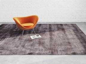 Tibey Uni Dark Brown Rug