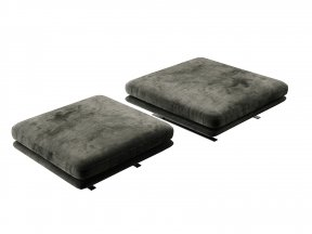 Prado Footstool Square