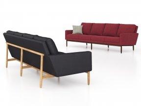 Raleigh Four-Seater Sofa