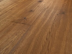 Saturated Rustic Oak Flooring with Knots