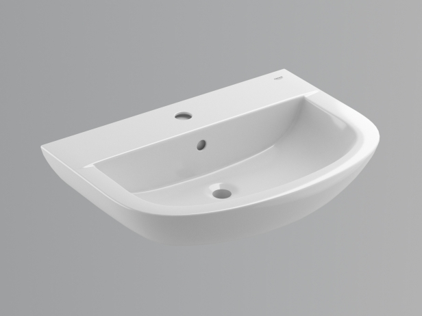 Bau Wall-hung Basin 65 Set 7