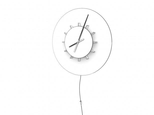 Temps Vecu Clock 4