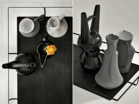 Black Table Set