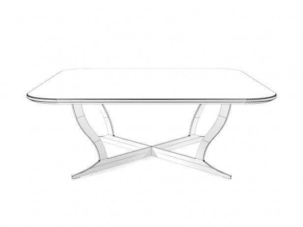 Richard Coffee Table Marble 90 & 120x80 4