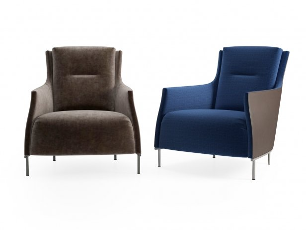 Riga Armchair Low Back New Base 1