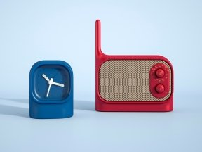 LEXON Mezzo Radio and Clock