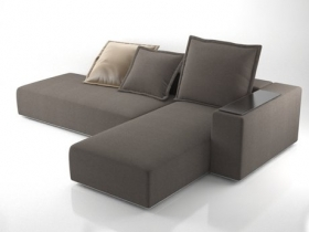 Modular Sofa with Chaise Lounge
