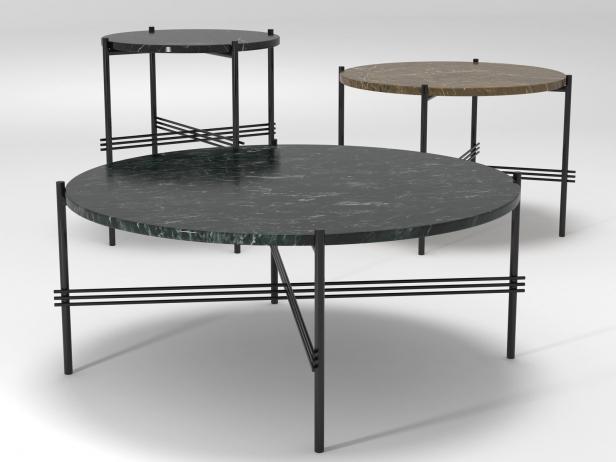 Ts Table 3d Model Gubi Denmark