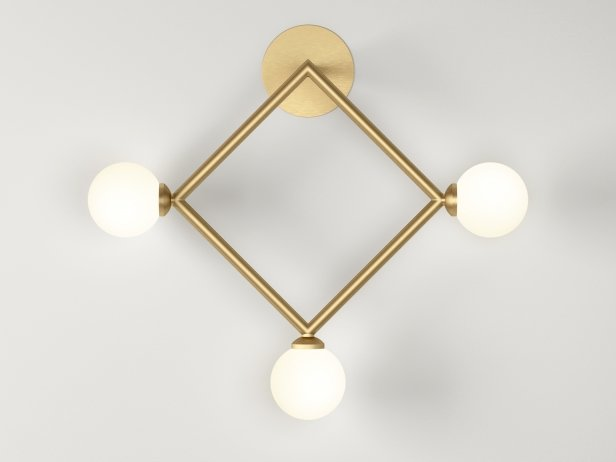 Square Wall Lamps 3