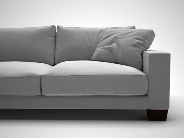 status sofa 3d model flexform. Black Bedroom Furniture Sets. Home Design Ideas