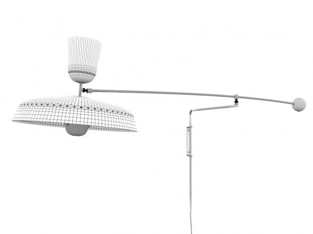 French Balancier Wall Lamp 5