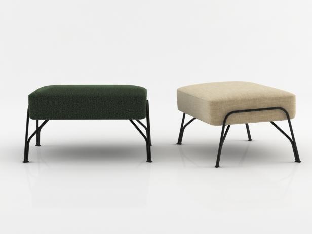 Humphrey Fireside Chair & Ottoman 5