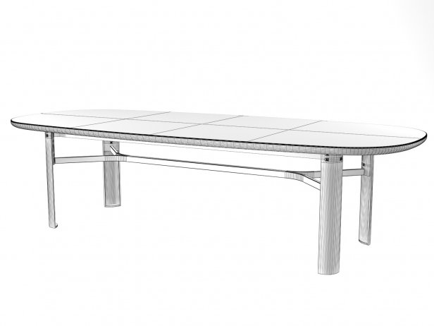 Dan Oval Dining Table 10