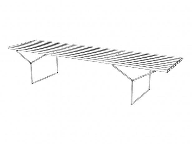 Bertoia Bench 5