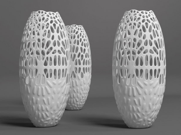 Lace Vase 3d Model Smallaccents