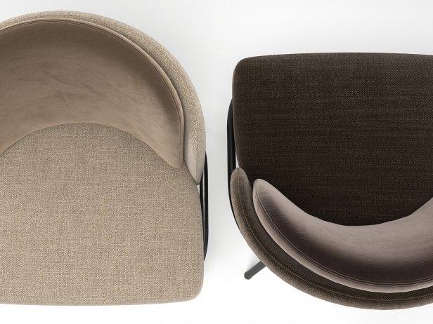 Fil Noir Dining Chair 6