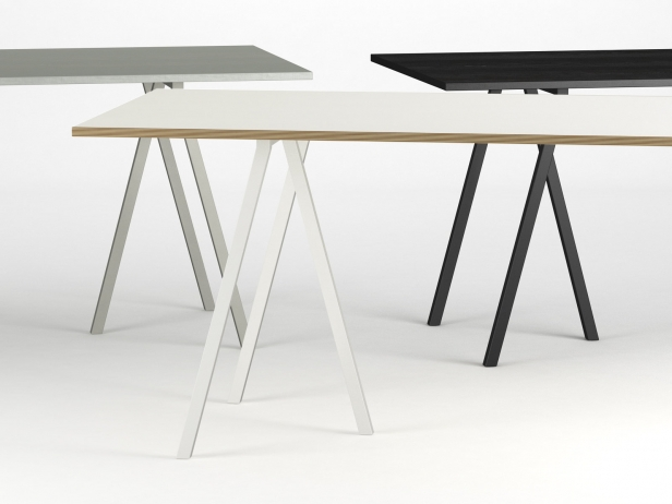 Loop Stand Table 3d Model Hay