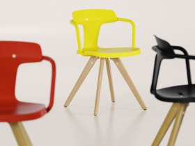 T14 wood chair