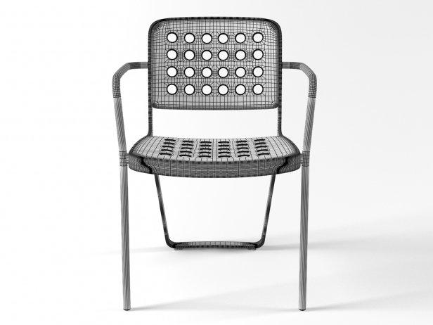 De La Warr Pavilion Chair 3d Model Established Amp Sons