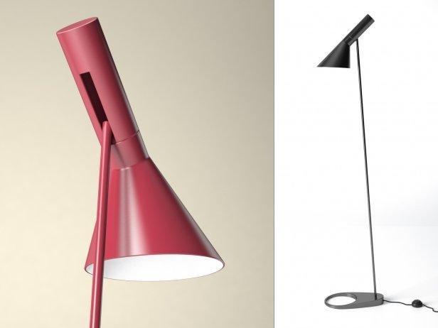 Aj floor lamp 3d model louis poulsen aj floor lamp 2 mozeypictures Choice Image
