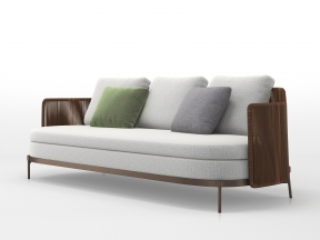 Tape Cord Outdoor Sofa 225