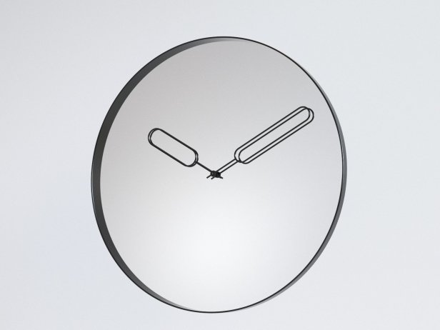 Mirror Clock 2