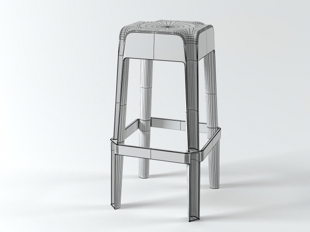 Transparent Barstools 9