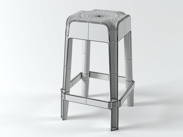 Transparent Barstools 10