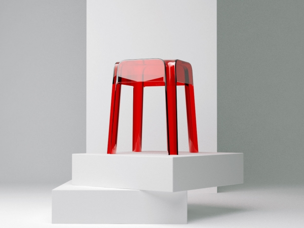 Transparent Barstools 6