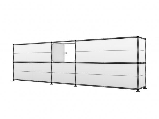 Filum USM Pendant Light and Illuminated Cabinet 6