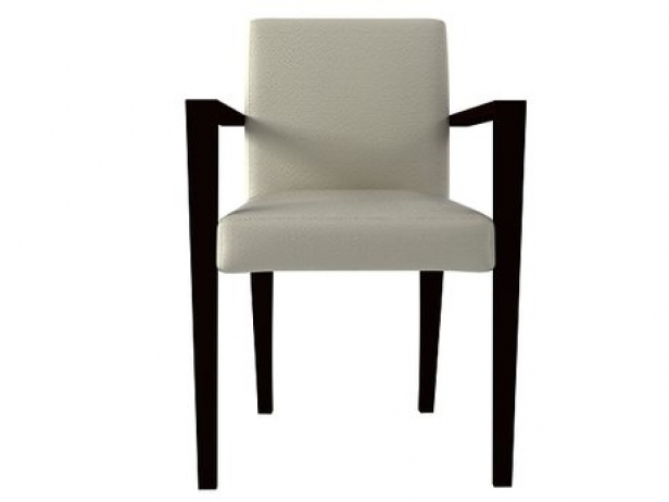 french line dining armchair 3d model ligne roset. Black Bedroom Furniture Sets. Home Design Ideas