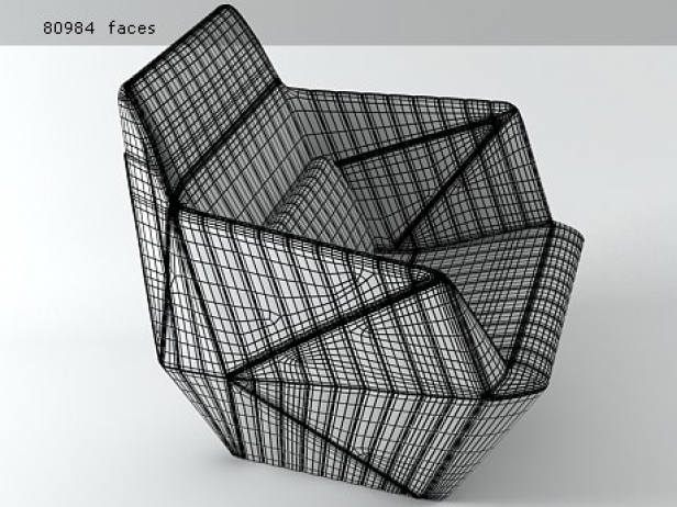 Facett Armchair 12
