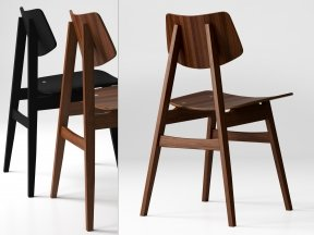 1960 Wood Chair