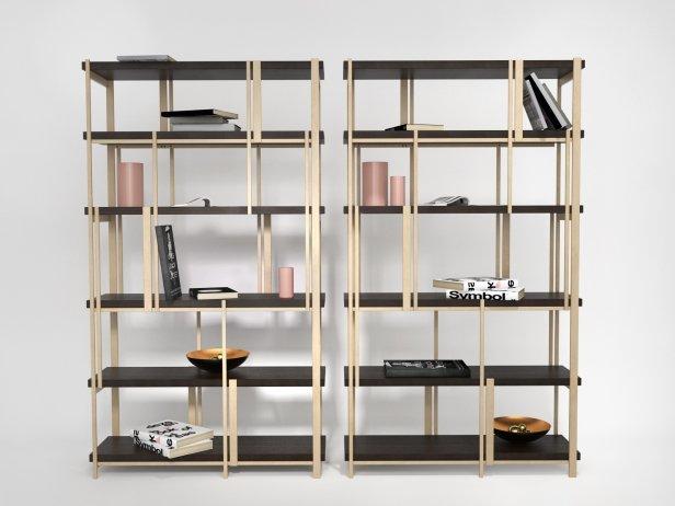 Mondrian Bookshelf 1