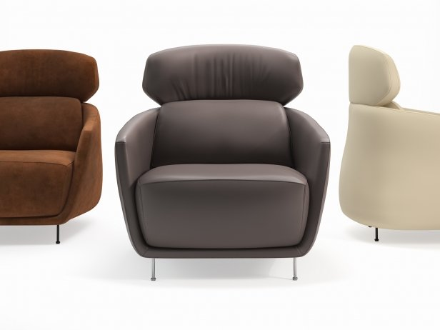 Okura Armchair High Back 3