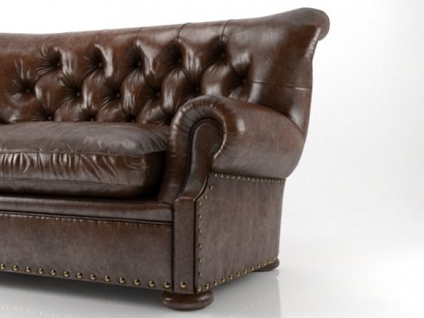 Bon 5u0027 Churchill Leather Sofa 1