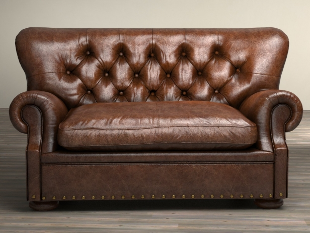 5 39 churchill leather sofa 3d model restoration hardware for Restoration hardware churchill sofa