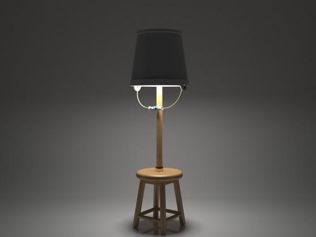 Bucket Lamp 3d model   Moooi