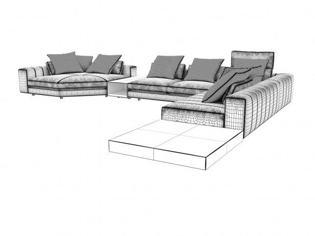 Freeman Corner Sofa System G 8