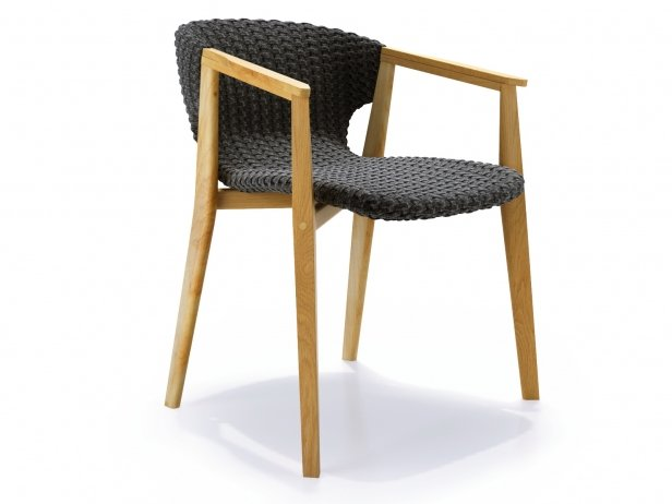 Knit Dining Armchair 1