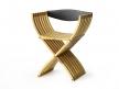 Curule Folding Chair 1