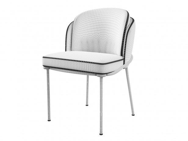Fil Noir Dining Chair 8