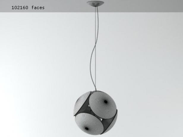 Bubble Pendant Light 9