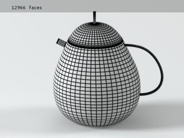 Fruit Basket Tea Service 16