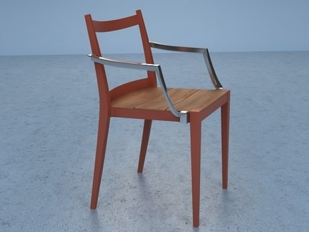 Play wooden armchair 10